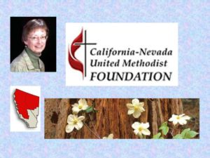 California-Nevada United Methodist Foundation, where Betsy is a Stewardship Consultant. Susan Peters, Executive Director.