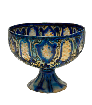 27707 Blue and white goblet Pixabay
