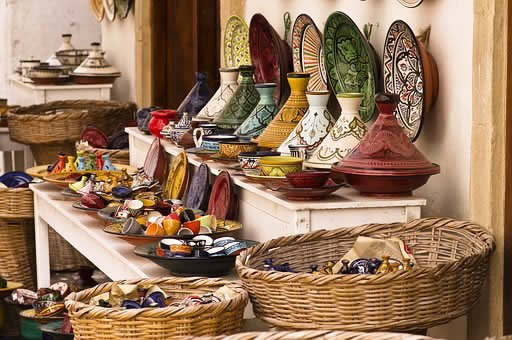 Daniel Wanke Colorful Moroccan pots Pixabay
