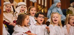 Generous Stewards Links photo of children's choir