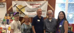 Authors at the Gold Country Fair in Auburn, CA, September 2019