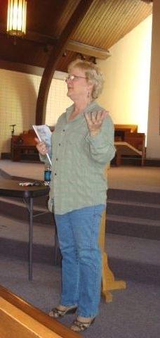 Betsy Schwarzentraub teaching